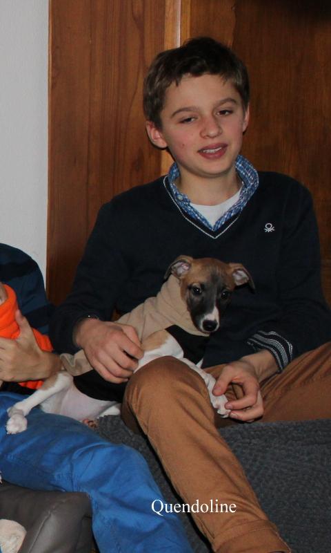 Quendoline seht die Mode von Siegerhund super